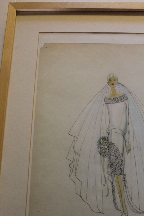 My bride from the 1920's... from the FIT Special Collections department (a fantastic resource)