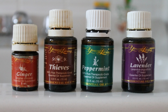 The four oils we use, on occasion