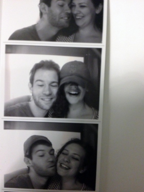 We need to work on our photobooth skills. More practice!